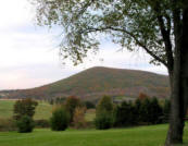 Mount Nittany in fall by William Ames
